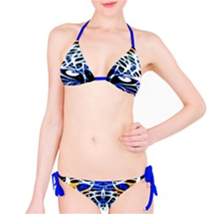 Officially Sexy Panther Collection Blue Bikini
