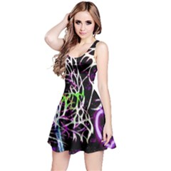 Officially Sexy Panther Collection Purple Sleeveless Dress