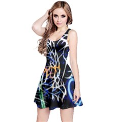 Officially Sexy Panther Collection Blue Sleeveless Dress