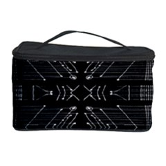 Black and White Tribal  Cosmetic Storage Case