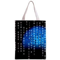 Binary Rain Classic Tote Bag