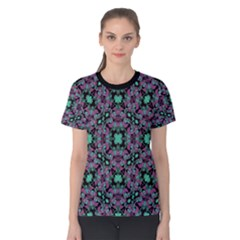 Floral Arabesque Print Women s Cotton Tee