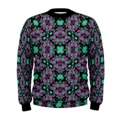 Floral Arabesque Print Men s Sweatshirt