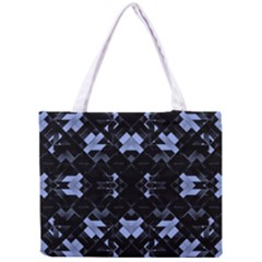 Futuristic Geometric Design Tiny Tote Bag