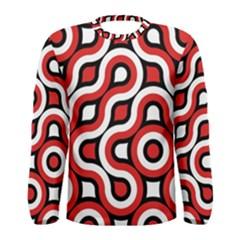 Waves and circles Men Long Sleeve T-shirt