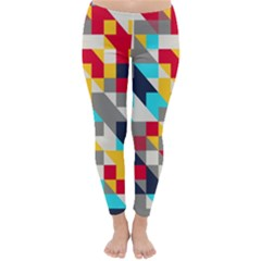 Colorful shapes Winter Leggings