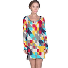 Colorful shapes nightdress