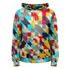 Colorful shapes Pullover Hoodie