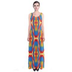 Floral pattern Full Print Maxi Dress
