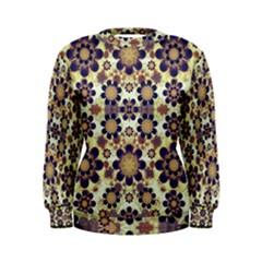 Modern Fancy Baroque Print Women s Sweatshirt
