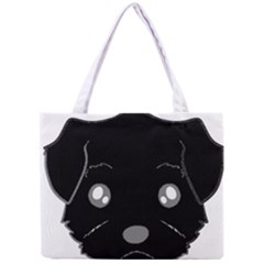 Affenpinscher Cartoon 2 Sided Head Tiny Tote Bag