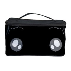 Affenpinscher Cartoon 2 Sided Head Cosmetic Storage Case