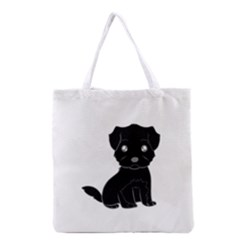 Affenpinscher Cartoon Grocery Tote Bag