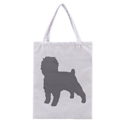 Affenpinscher Color Grey Silo Classic Tote Bag