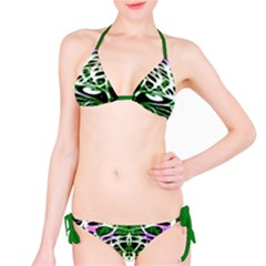 Officially Sexy Panther Collection Green Bikini