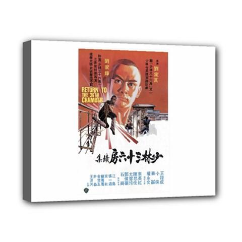 Shao Lin Ta Peng Hsiao Tzu D80d4dae Canvas 10  X 8  (framed)