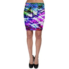 Officially Sexy Floating Hearts Collection Pink Bodycon Skirt
