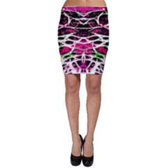 Officially Sexy Panther Collection Pink Bodycon Skirt