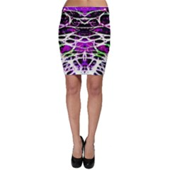 Officially Sexy Panther Collection Purple Bodycon Skirt