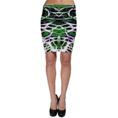 Officially Sexy Panther Collection Green Bodycon Skirt