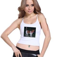 Jack Russell Terrier Full Women s Spaghetti Strap Bra Top