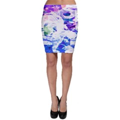 Officially Sexy Candy Collection Blue Bodycon Skirt