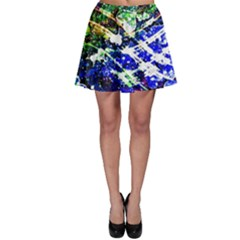 Officially Sexy Floating Hearts Collection Blue Skater Skirt