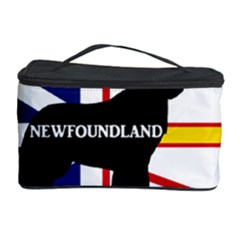 Newfoundland Name Silo On Flag Cosmetic Storage Case