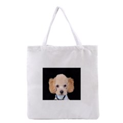 Apricot Poodle Grocery Tote Bag