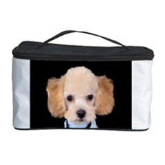 Apricot Poodle Cosmetic Storage Case