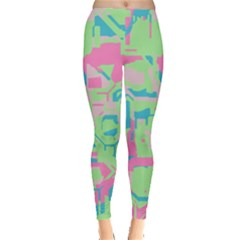 Pastel chaos Leggings