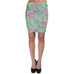 Pastel chaos Bodycon Skirt