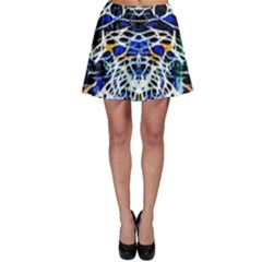 Officially Sexy Panther Collection Blue Skater Skirt