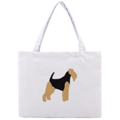 Welsh Terrier Silo Color Tiny Tote Bag