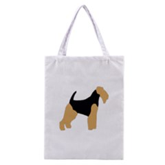 Welsh Terrier Silo Color Classic Tote Bag