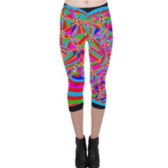 Magical Trance Capri Leggings