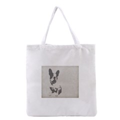 French Bulldog Art Grocery Tote Bag