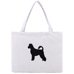 Portugese Water Dog Silhouette Tiny Tote Bag