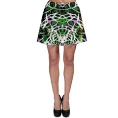 Officially Sexy Panther Collection Green Skater Skirt