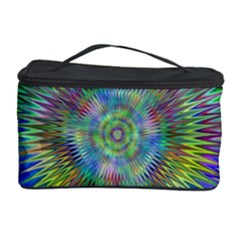 Hypnotic Star Burst Fractal Cosmetic Storage Case