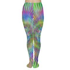 Hypnotic Star Burst Fractal Tights