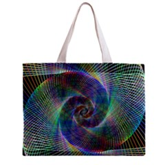 Psychedelic Spiral Tiny Tote Bag