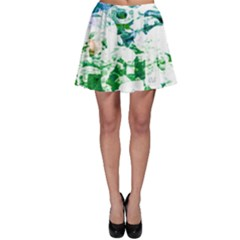 Officially Sexy Candy Collection Green Skater Skirt