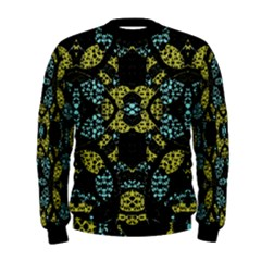 Ornamental Abstract Dark Men s Sweatshirt