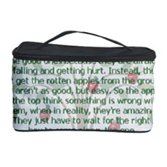 Girls Are Like Apples Cosmetic Storage Case