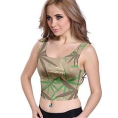 Leaves Crop Top