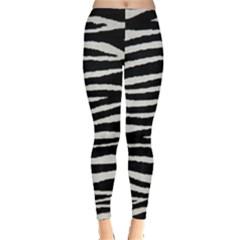 Black White Tiger  Leggings