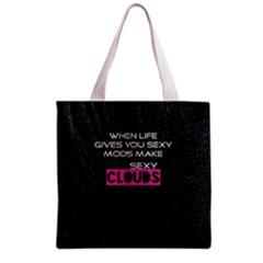 When Life Gives You Sexy Mods  Grocery Tote Bag