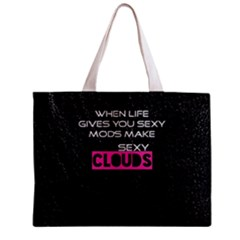 When Life Gives You Sexy Mods  Tiny Tote Bag