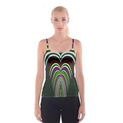 Symmetric Waves Spaghetti Strap Top